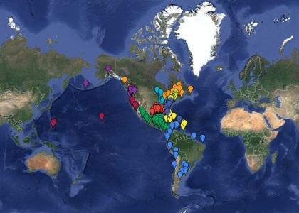 Member Ports Map
